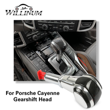 Car gear shift knob lever stick for Porsche Cayenne 2011 2017 gear knob shift knob stick shifter replace speed control lever