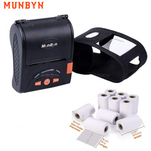 Munbyn IMP001 Draagbare 58Mm Bluetooth Thermische Printer Usb Mini Mobiele Pos Printers Gratis Sdk Voor Window Android