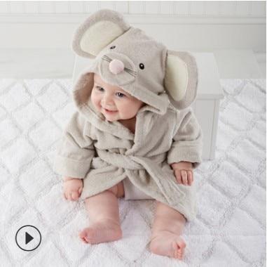 20 Designs Baby Bath Hooded Animal Model Ing Baby Bathrobe Cartoon Baby Spa Towel Character Kids Bath Robe Infant Beach Towels