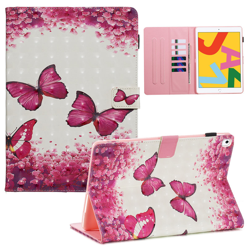 7th 2019 For iPad Cover Funda Generation for A2232 Case A2200 Skin iPad 10.2 Apple Smart