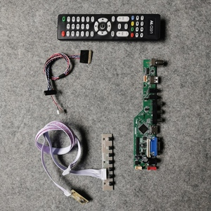 1366*768 tela vga usb av ajuste cla156wa11a/cla156wb11a monitor placa controladora universal 40 pinos lvds 60hz wled kit diy