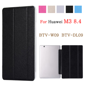 Tablet case for funda Huawei MediaPad M3 8.4 2016 BTV-W09 BTV-DL09 Wi-fi 3G 4G PU leather flip cover stand case protective shell