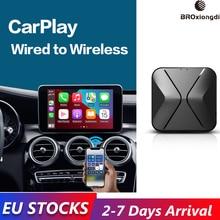 BROxiongdi Carplay Drahtlose Apple Carplay Dongle IOS 14 Adapter für Audi Benz Mazda Volkswagen Volvo Nissan Ford Honda Renault