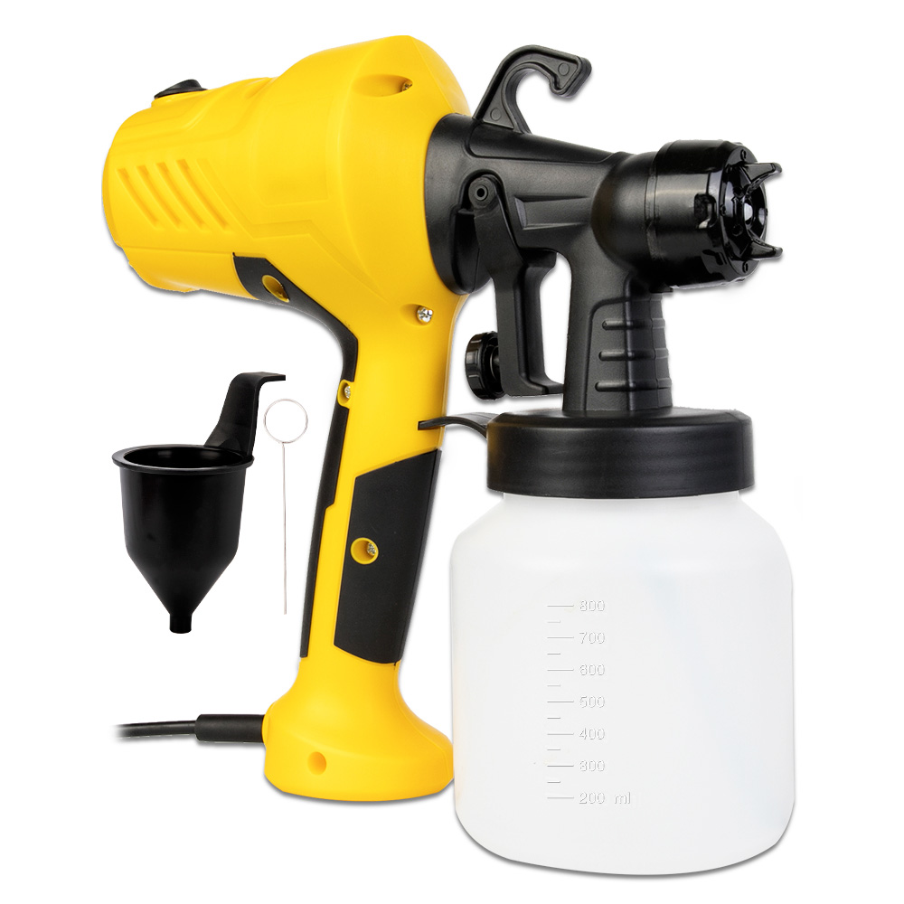 800ML Electric Paint Sprayers Gun In High Power With Plastic Spool Nozzle For Easy Spraying 1