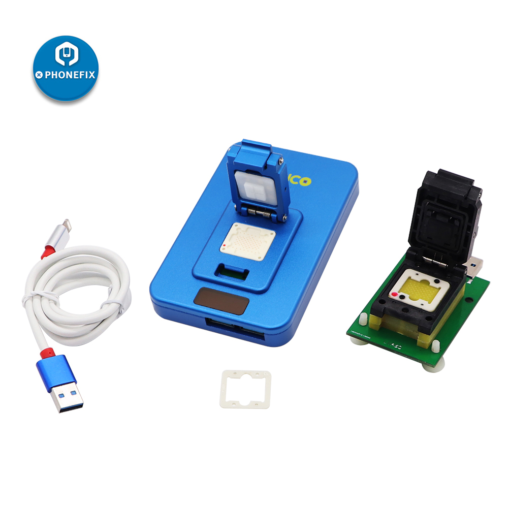 NAND Ipad Upgrade Speed BOX 7P IP Box High 6p Programmer Iphone 5 Connector 2th V2 6S Magico PCIE IP 7 For Repair Photosensitive