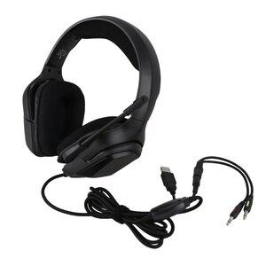 ONIKUMA K20 RGB PS4 динамическая игровая гарнитура Casque Проводные ПК стерео наушники с шумоподавлением с микрофоном светодиодный звуковой сигнал