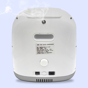 Image 2 - Concentrador médico 110 v do oxigênio do gerador do oxigênio para cuidados de saúde em casa com com fluxo 2 7l/min do nebulizador para 2 pessoas