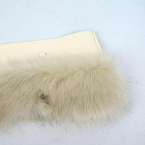 Image 2 - huntfun New Women Bag Faux Fox Fur Beige Plush Trim for O BAG Thermal Plush Decoration Fit for Classic Big Mini Obag
