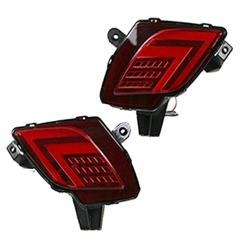 Red LED Tail Turn Signal Light Rear Bumper Brake Lamp Fits for Mazda CX-5 2013-2016