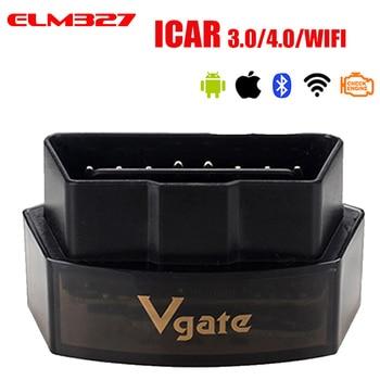 Vgate iCar Pro Bluetooth 4.0/3.0/WIFI OBD 2 Scanner For Android/IOS Auto Elm 327 OBD Car Diagnostic Tool ELM327 V2.1 Code Reader