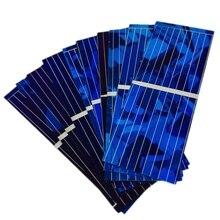 100 шт Солнечная панель Солнечная батарея Diy зарядное устройство 0,5 V 320Ma 52X19 мм