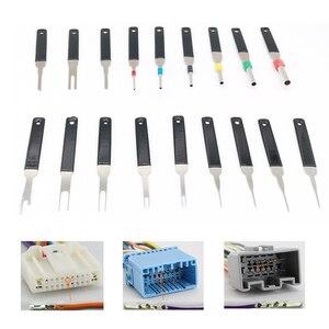 Image 1 - Kit de extracción de terminales de coche, pinza de presión para cables, Pin Extractor, herramientas de mango profesional, 18 Uds.