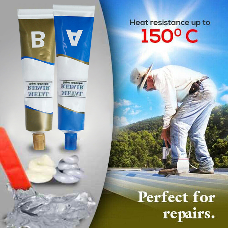 Industrial Repair Paste Glue Heat Resistance Cold Weld Metal Repair Paste YU-Home