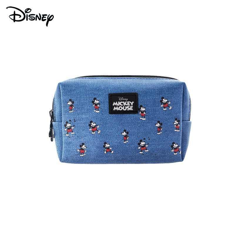 Disney Echt Mickey Minnie Briefpapier Opbergtas Briefpapier Zak Draagbare Opbergtas Vrouwelijke Leuke Cartoon Portemonnee