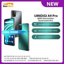 UMIDIGI A9 Pro 6,3 Zoll 4G Handy MTK Helio P60 Octa Core Smartphone 6G RAM 128G ROM 4150mAh Globale Version 48MP Al Kamera