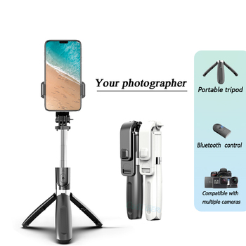 Mobile Phone Holder Adjustable Selfie stick Tripod Bracket for Mobile Phone Camera Selfie Stand Monopod Support Photo Remote