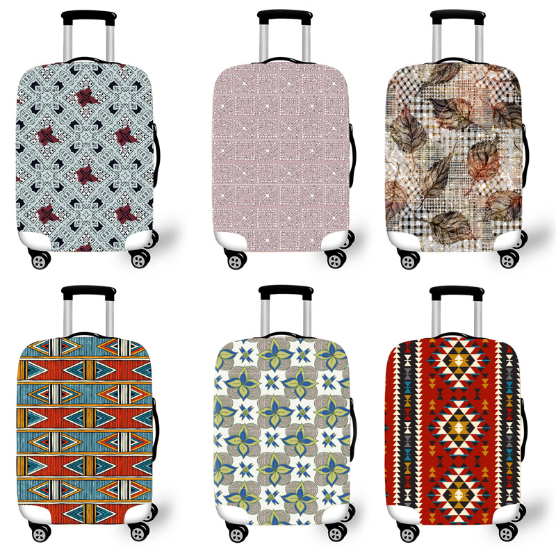 Elastic Luggage Protective Cover Case For Suitcase Protective Cover Trolley Cases Covers 3D Travel Accessories Lattice Pattern 2