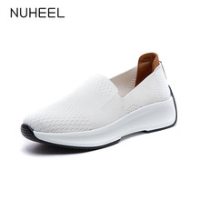 NUHEEL women shoes fashion wild sport casual shoes for women breathable non-slip comfortable женская обувь