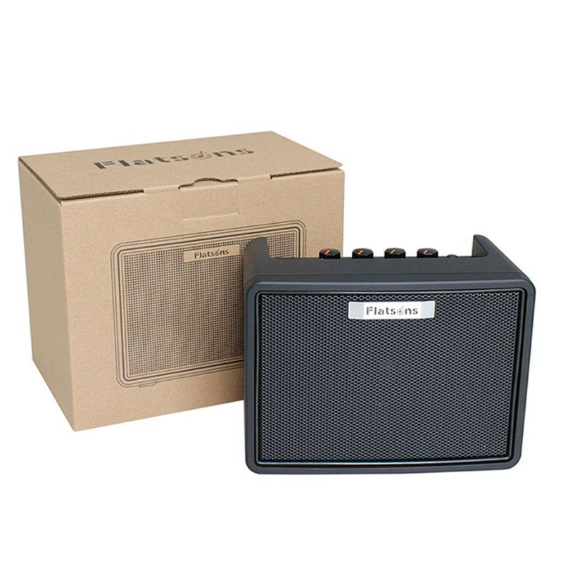 FGA-3 Mini amplificateur de guitare 6 * AA batteries USB alimentation Portable amplificateur haut-parleur pour guitare acoustique/électrique ukulélé