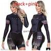 Laranja longo de mangas compridas camisa ciclismo skinsuit 2020 mulher ir pro mtb bicicleta roupas opa hombre macacão 9d gel almofada skinsuit 8