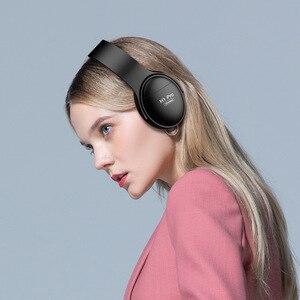 Image 5 - REZ H1 Pro Bluetooth kulaklıklar kablosuz kulaklık aşırı kulak gürültü HiFi Stereo iptal oyun kulaklığı Mic ile destek TF kart