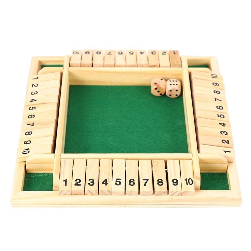 4 jogadores jogo de tabuleiro de quebra-cabeça