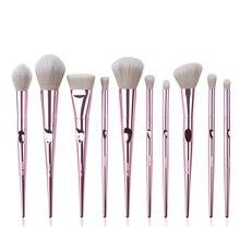 Security Grid 10 Branch Series Makeup Brush Set Suit Full Of Eye Shadow