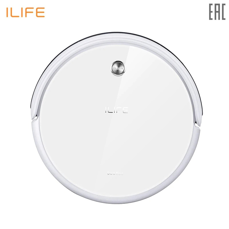 Robot vacuum cleaner ILIFE A40 with deep carpet cleaning робот пылесос ilife a40