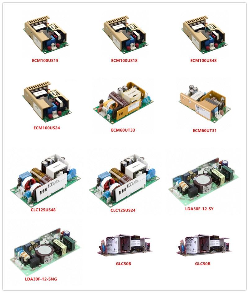 ECM100US15|ECM100US18|ECM100US48|ECM100US24|ECM60UT33|ECM60UT31|CLC125US48|CLC125US24|LDA30F-12-SY|LDA30F-12-SNG|GLC50B