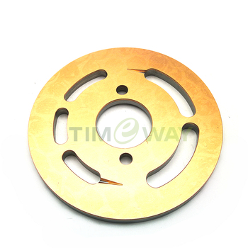 Valve plate NACHI PVK-2B-505 pump parts repair ZX55 excavator piston pump image