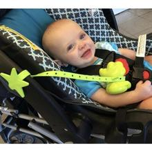 Stroller Hook Baby-Star Non-Toxic Silicone Toy-Holder Pacifier-Chain-Strap Pram-Accessories
