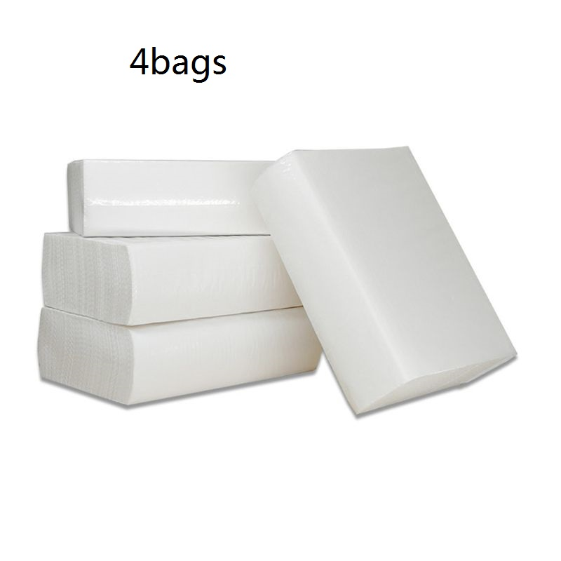 480 Sheets/4 Bags Silky Smooth Soft PremiumToilet Paper Napkin Toilet Tissues Kitchen Bedroom Dining Table Bathroom Toilet Paper
