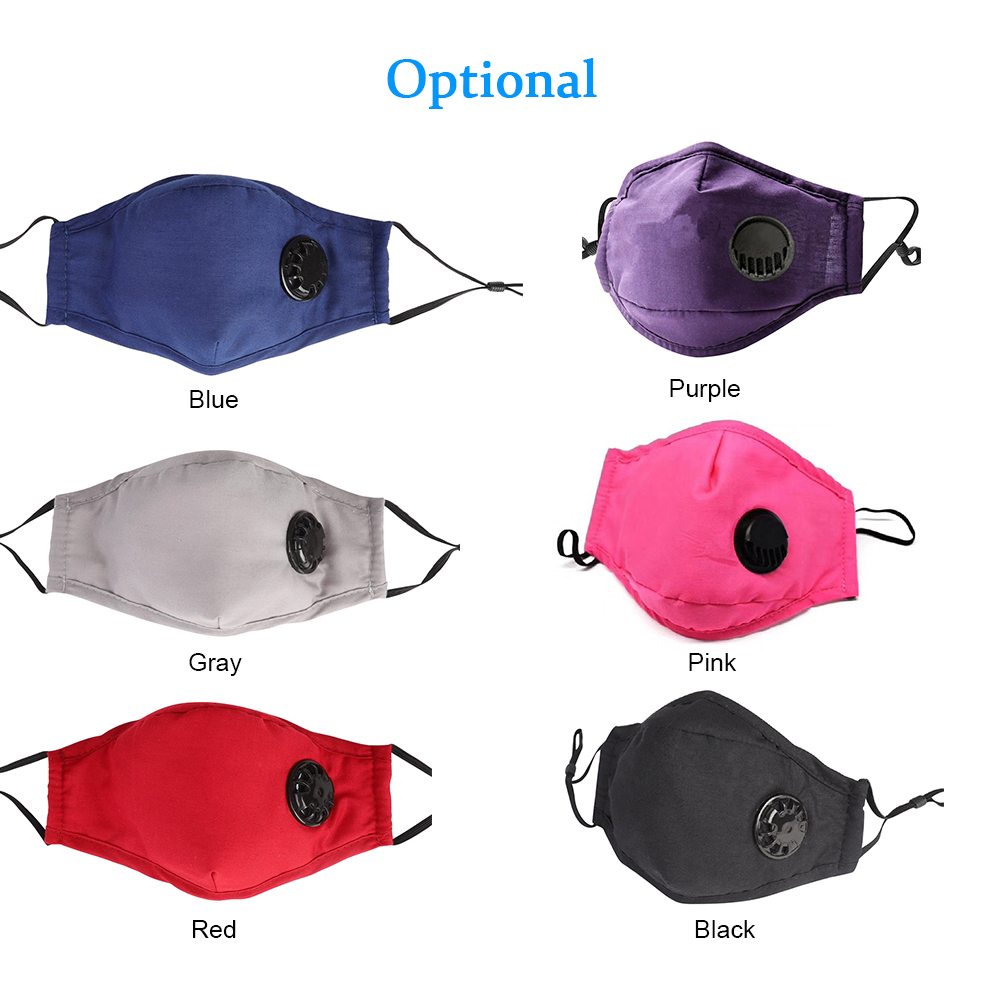 US IN Stock 1PC Mask Face Mouth Mask Respirator