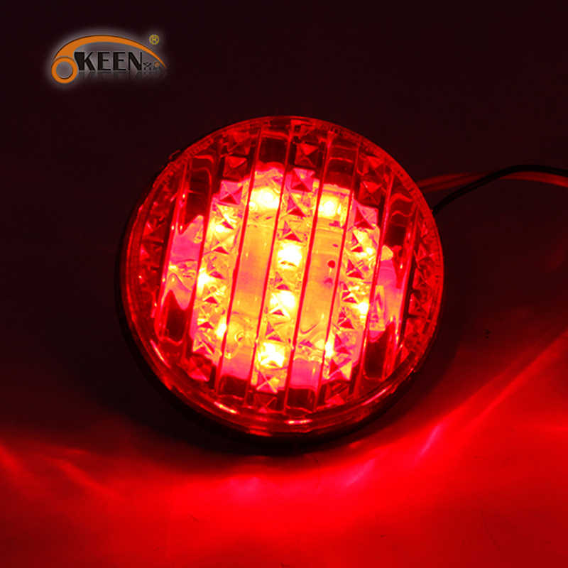 2 Stuks Voor Toyota Sequoia 2008 2009 2010 2011 2012 2013 Red Lens Led Rear Bumper Reflector Staart Stop Light led Rear Bumper