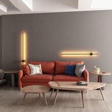 Modern Minimalist LED Wall Lamp Creative European Wall Lights Living Room Home Decor Background Wall Light Bedroom Bedside Lamps
