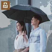 Xiaomi 90Fun paraguas plegable automático, sombrilla Led luminosa a prueba de viento UPF50 +, Anti UV, sombrilla de refrigeración somatosensorial