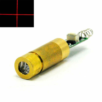 цена на Industrial Brass 650nm 50mW Red Laser Cross Module 3.0-3.7V