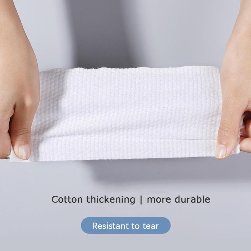 Disposable Face Towel Cotton Makeup Cleansing Wipes Facial Washcloth Roll Pads Environmentally Friendly And Comfortable