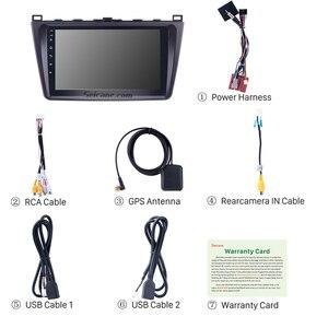 """Image 5 - Seicane 9 """"2din Android 9.0 araba radyo Wifi GPS navigasyon ünitesi oyuncu Mazda 6 Rui 2008 2009 2010 2011 2012 2013 2014 2015"""