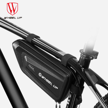 Wheel up Bicycle bag EVA triangle bag beam bag waterproof tube hanging saddle bag mountain bike tube bag недорого