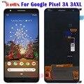 100% getestet Für Google Pixel 3A XL LCD Display Bildschirm Touch Digitalisiert Montage Ersatz Für Google 3A XL Pixel G020F LCD