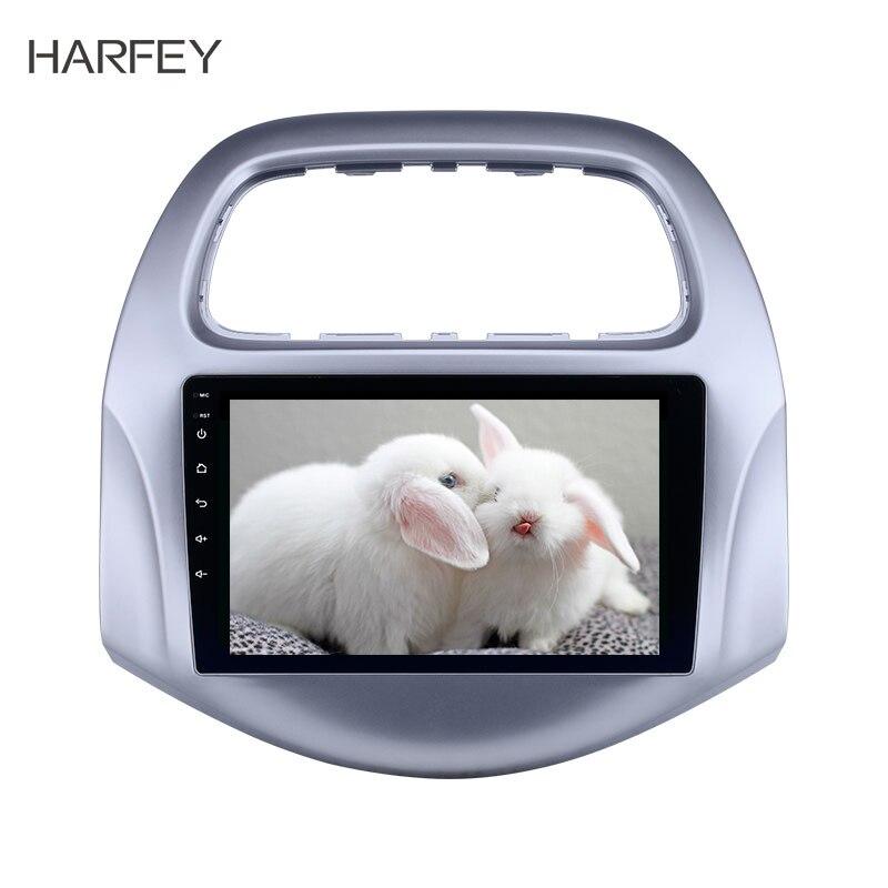 Harfey 9 pouces Android 8.1 voiture GPS Radio pour chevy Chevrolet Daewoo Matiz/Spark/Baic/Beat 2018 2019 Auto stéréo 2din unité de tête