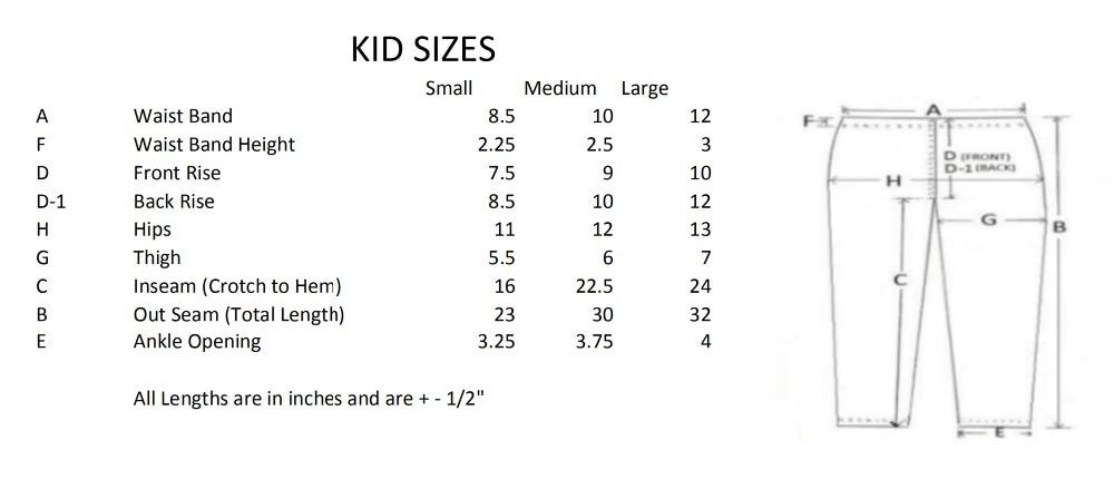 Kids size_1