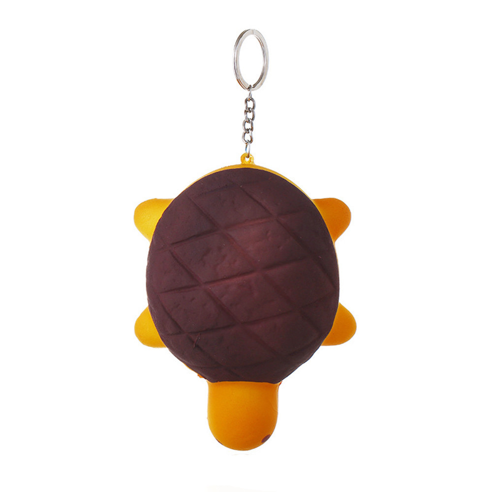 Cute Turtle Slow Rising Scented Relieve Stress Toy Keychain Novelty Fun Toys Gift For Children Simulation Cartoon Toys #B