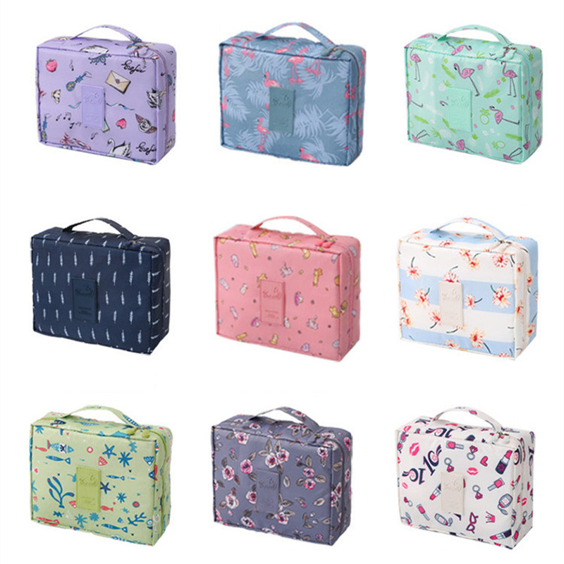 2019 New Women Cosmetic Bag Girls Make Up Organizer Cases Makeup Toiletry Kit Storage Travel Necessity Beauty Vanity Wash Pouch
