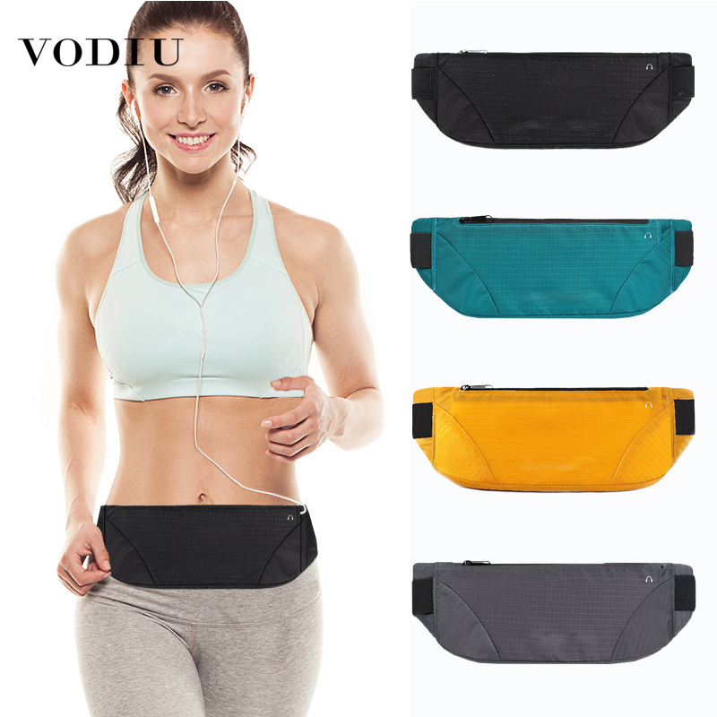 Waist Bag For Women Large Capacity Female Fanny Pack Outdoor Sports Running Wallets Woman Waist Pockets Black Casual Belt Bag