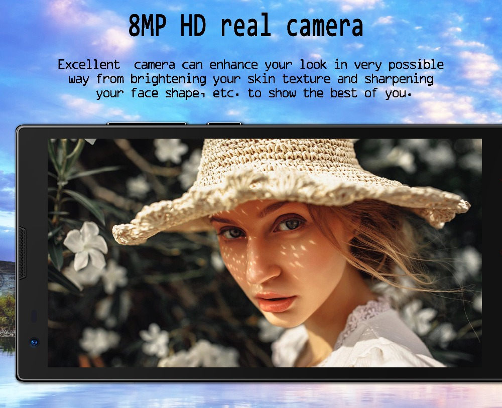 S 8MP HD real camera