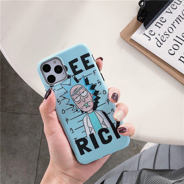 Free Morty Rick Case for Iphone