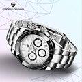 PAGANI Дизайн 2019 новые мужские часы спортивные кварцевые часы мужские стальные водонепроницаемые часы мужские модные хронограф Relogio Masculino