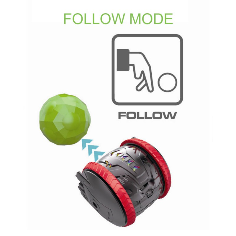 Rechargeable and Rolling Smart Pet Toys and Smart Robot Toys With Remote Control 3